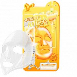 Elizavecca Vita Deep Power Ringer Mask Pack Витаминизированная тканевая маска 23мл