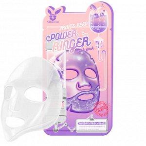 Elizavecca Fruits Deep Power Ringer Mask Pack Тканевая маска для лица Фруктовая 23мл