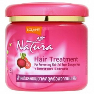 Маска для сухих волос против выпаденияс экстрактом свеклы и пептидным комплексом