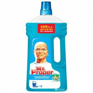 MR PROPER Моющая жидкость для полов и стен Океан 1л
