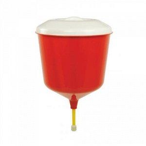 Рукомойник Рукомойник 3,0л [ДАЧНИК]. Размеры изделия: Д /Ш/ В 190 /190 /300 мм, диаметр 190 мм. Умывальник - рукомойник изготовлен из безопасного, пищевого полипропилена, не имеет токсичного запаха .