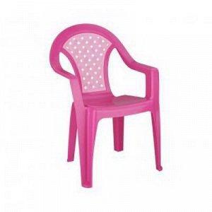 Стул дет. Стул детский [ПЛЕТЁНКА] РОЗОВЫЙ. Размеры изделия: Д / Ш / В  370 / 350 / 570 мм.Детские пластиковые стулья изготовлены из высококачественной пластмассы с использованием современных технолог