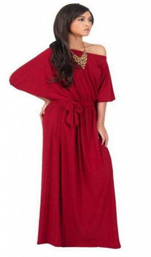 Платье цвет: КРАСНЫЙ. Размер: (длина