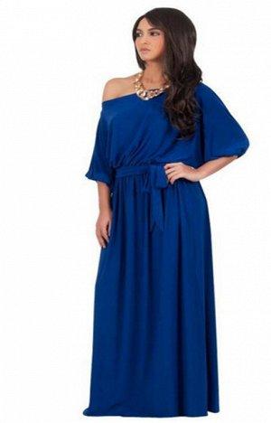 Платье цвет: СИНИЙ. Размер: (длина