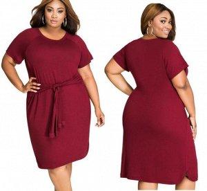 Платье цвет: КРАСНОЕ ВИНО. Размер: (бюст