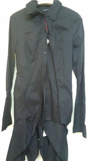 Рубашка -туника черная , Турция