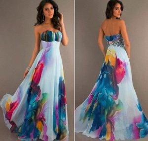 Длинное платье-бандо Цвет: НА ФОТО