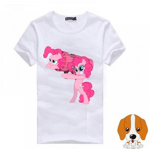 "5406 Футболка ""my little pony"", хлопок"