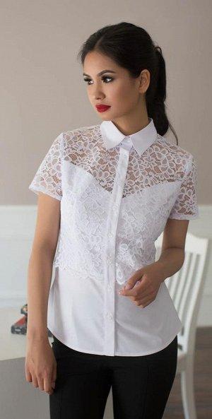 Блузка короткий рукав