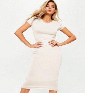Платье-футболка цвет: БЕЛЫЙ