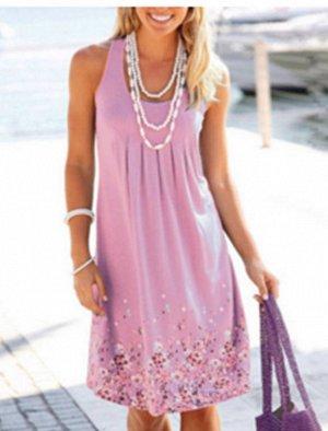 Платье цвет: ФИОЛЕТОВЫЙ