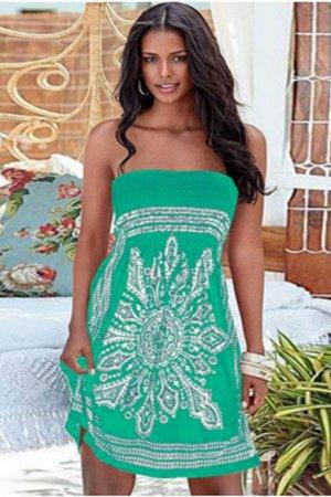 Платье цвет: ЗЕЛЕНЫЙ