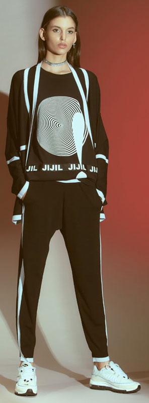 брюки трикотажные - ИТАЛИЯ-JIJIL Жижиль - Весна/Лето 2019-размер 48 - ЕСТЬ ФОТО
