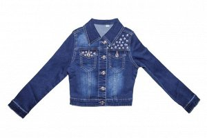 Куртка 133451-8 джинс