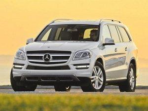 Ковры салонные Mercedes-Benz GL-Class (X166) (2012 - 2016) левый руль