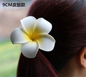 Резинка для волос Магнолия 9 см