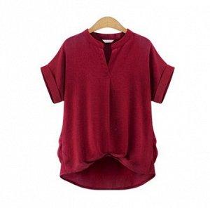 Блузка из плотного материала