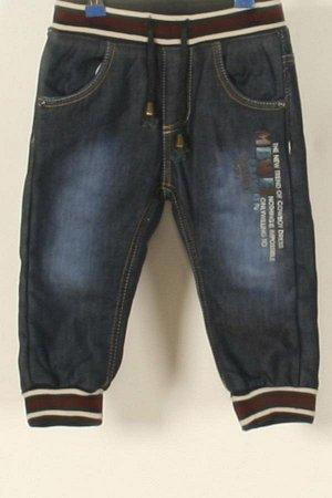 Утеплённые джинсы,новые на рост 74см
