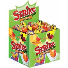 Карамель на палочке «Strike» с двойными вкусами
