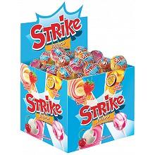 Карамель на палочке «Strike» с добавлением молока