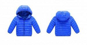 Демисезонная детская куртка, цвет ярко-синий