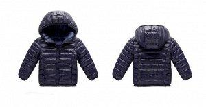 Демисезонная детская куртка, цвет глубокий синий