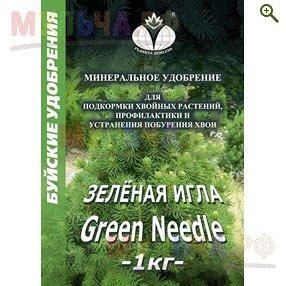 Зеленая игла 1 кг средство от  побурения хвои