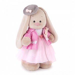 Мягкая игрушка Зайка Ми Розовый бутон (большая)