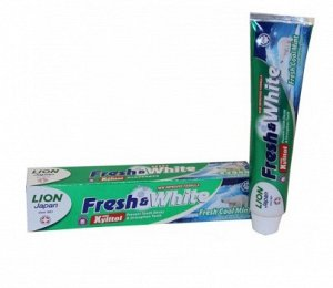 "LION ""Фреш энд Вайт"" Зубная паста 160гр ""Fresh Cool Mint"" мятная свежесть"