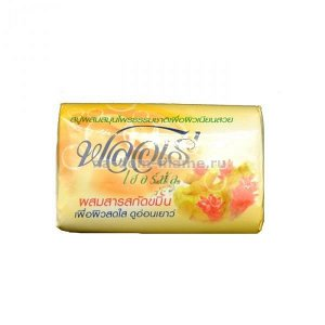 "LION ""Flore Herbal Bar Soap"" Мыло 80гр ""Куркума"" /144шт/ Таиланд"