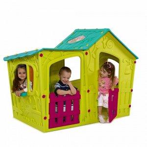 Дом игровой Magic Villa Волшебная вилла зелено/бирюзовый (169*110*126 h)
