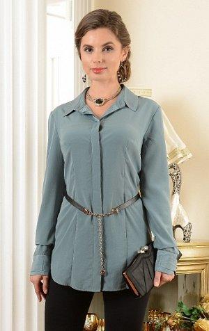 Модная рубашка, приятная к телу (маломерит)