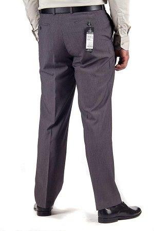 Брюки Без защипа демисезонные. Состав: шерсть - 20% , вискоза - 60% , полиэстер - 20%, мужские брюки без защипа