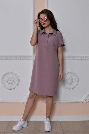 Платье Ника (пудровый)