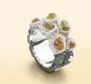 Кольцо дизайнерское (серебро)