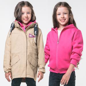 Куртка-парка 3 в 1 для девочки