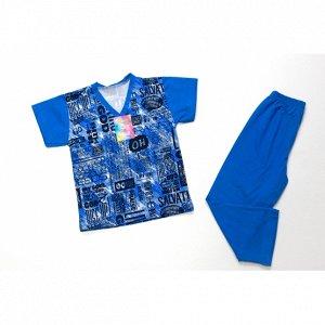 Пижама короткий рукав для мальчика