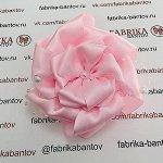 Большой бант Праздничный розовый