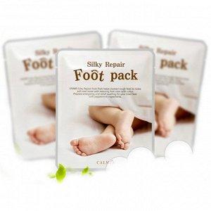 CALMIA Silky Repair Foot Pack Маска для ухода за кожей ног 1 пара