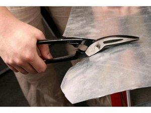 ЗУБР Прямые 250 мм ножницы по металлу