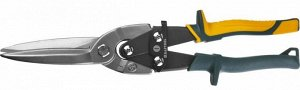 KRAFTOOL Alligator Прямые удлинённые ножницы по металлу