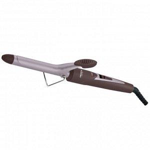 Щипцы для завивки волос DELTA LUX DL-0630, керам. покрытие, d19 мм, коричн, (24) (Россия)