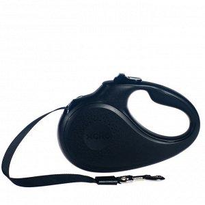 Рулетка Classic (L) черная 5м 50кг
