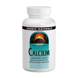 Source Naturals, Кальций, 250 таблеток