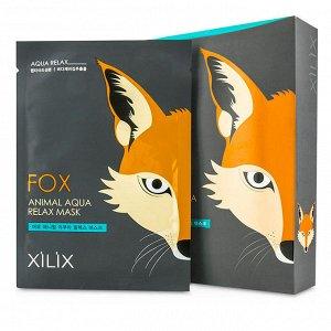 """АКЦИЯ!!! Маска для лица успокаивающая """"Fox  Animal"""" 25 г / 10 / 500"""