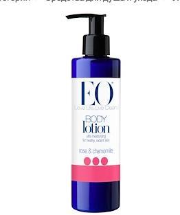 EO Products, Лосьон для тела, роза и ромашка, 8 жидких унций (236 мл)