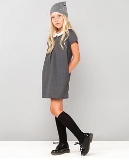 Платье из закупки Cookie. серое, итальянский дизайн