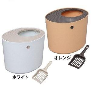 Туалет-домик закрытого типа, с совком