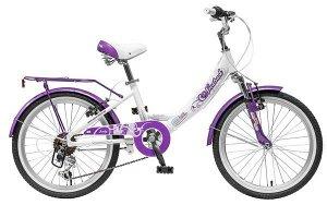 """Велосипед для девочки NOVATRACK 20"""", GIRLISH line, белый-бордовый, алюм., 6 скоростей, TY21/R #085486"""