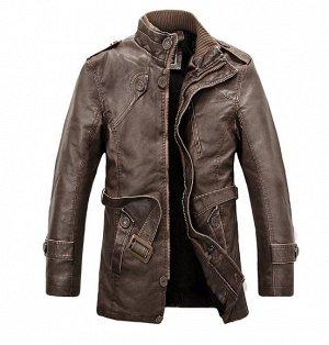 Куртка мужская утепленная, цвет Кофе